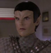 """Alien impersonating a romulan, TNG: """"Timescape"""""""